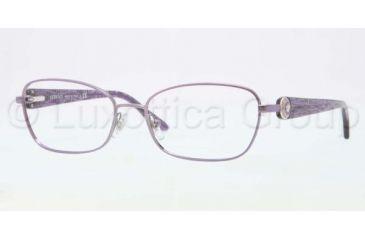 Versace VE1210 Single Vision Prescription Eyeglasses 1023-5416 - Violet Frame
