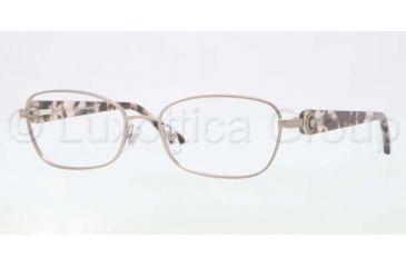 Versace VE1210 Single Vision Prescription Eyeglasses 1328-5216 - Pink Frame