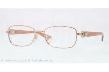 Versace VE1216B Eyeglass Frames 1052-52 - Copper Frame, Demo Lens Lenses