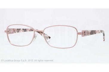 Versace VE1216B Eyeglass Frames 1260-52 - Pink Sandstrahlung Frame, Demo Lens Lenses