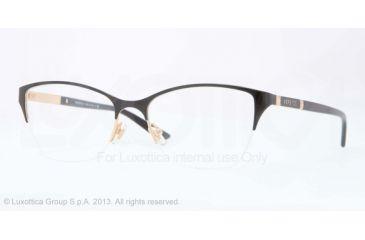 Versace VE1218 Eyeglass Frames 1342-53 - Gold Frame
