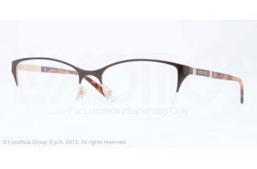 Versace VE1218 Eyeglass Frames 1344-53 - Pale Gold Frame