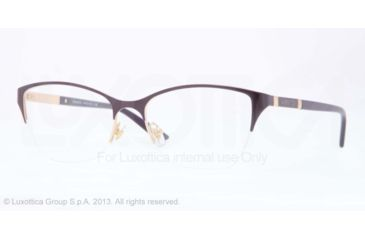 Versace VE1218 Eyeglass Frames 1345-53 - Gold Frame
