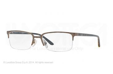 Versace VE1219 Eyeglass Frames 1325-54 - Matte Brass Frame