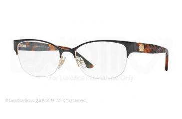 Versace VE1222 Progressive Prescription Eyeglasses 1344-53 - Pale Gold Frame