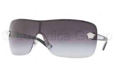 Versace VE2119 Sunglasses 10008G-0145 - Silver Frame, Gray Gradient Lenses