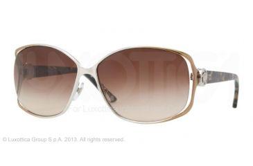 Versace VE2125B Bifocal Prescription Sunglasses VE2125B-131213-60 - Lens Diameter 60 mm, Frame Color Silver/brown