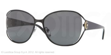 Versace VE2137 Single Vision Prescription Sunglasses VE2137-100987-58 - Lens Diameter 58 mm, Frame Color Black