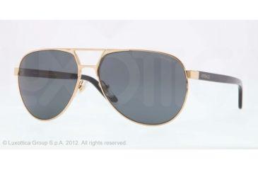 Versace VE2142 Progressive Prescription Sunglasses VE2142-100281-60 - Lens Diameter 60 mm, Lens Diameter 60 mm, Frame Color Gold