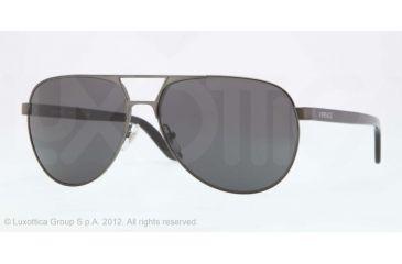 Versace VE2142 Progressive Prescription Sunglasses VE2142-131687-60 - Lens Diameter 60 mm, Lens Diameter 60 mm, Frame Color Athracite