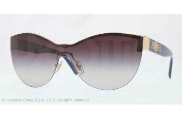 Versace VE2144 Single Vision Prescription Sunglasses VE2144-10028G-40 - Lens Diameter 140 mm, Lens Diameter 40 mm, Frame Color Gold