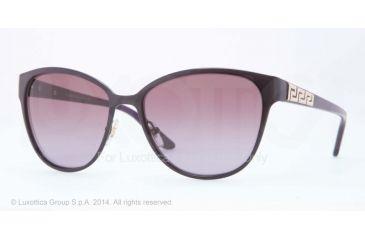 Versace VE2147B Sunglasses 13378H-56 - Pastel Violet Frame, Violet Gradient Lenses