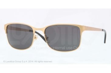 Versace VE2149 Sunglasses 119687-56 - Brushed Gold Frame, Gray Lenses