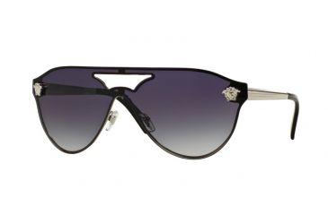 Versace VE2161 Sonnenbrille Silber 10008G 42mm 6Z6MY