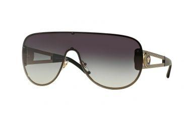 74bec08a9d59a Versace VE2166 Sunglasses 12528G-41 - Pale Gold Frame