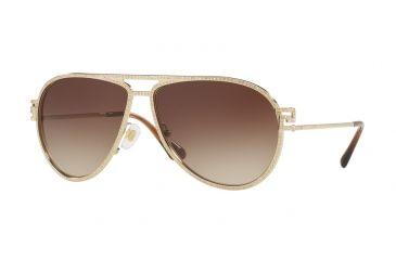 e42fb6c52f5 Versace VE2171B Sunglasses 125213-62 - Pale Gold Frame