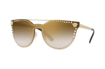 1dd6cbc131683 Versace VE2177 Sunglasses 12526U-45 - Pale Gold Frame