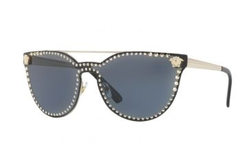 1fd35306669 Versace VE2177 Sunglasses 125287-45 - Pale Gold Frame