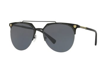 b927651261e7 Versace VE2181 Bifocal Prescription Sunglasses VE2181-100987-57 - Lens  Diameter 57 mm,