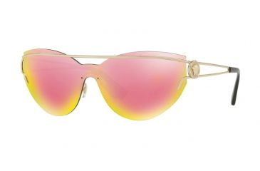b8f6d014955a Versace VE2186 Sunglasses 12524Z-38 - Pale Gold Frame