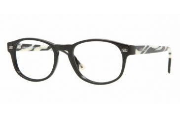 Versace VE3133 #GB1 - Shiny Black Demo Lens Frame