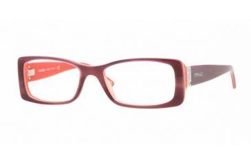 Versace VE3138 #885 - Striped Violet / Matte Demo Lens Frame