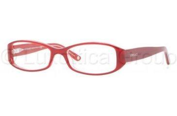 Versace VE3144 Progressive Prescription Eyeglasses 878-5116 - Red/Crystal