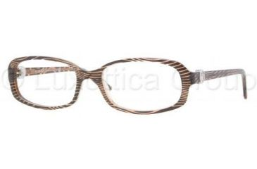Versace VE3149B Eyeglass Frames 934-5217 - Wave On Brown