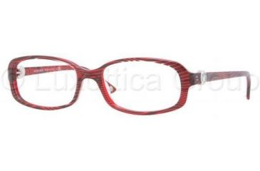 Versace VE3149B Eyeglass Frames 935-5417 - Wave On Red