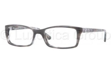 Versace VE3152 Single Vision Prescription Eyewear 940-5317 - Striped Black