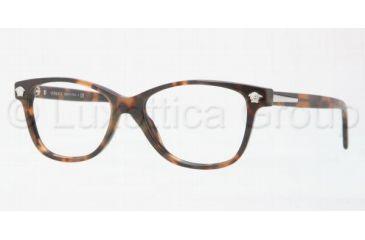 Versace VE3153 Single Vision Prescription Eyewear 944-5116 - Dark Havana
