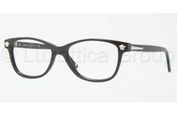 Versace VE3153 Progressive Prescription Eyeglasses GB1-5116 - Shiny Black