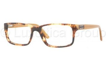 Versace VE3154 Progressive Prescription Eyeglasses 954-5217 - Havana Frame