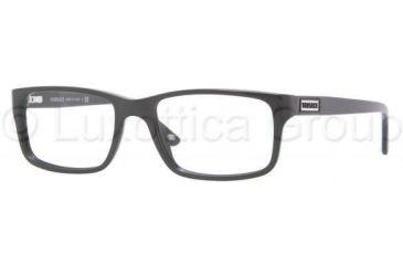 Versace VE3154 Eyeglass Frames GB1-5217 - Shiny Black Frame