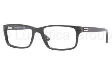 Versace VE3154 Bifocal Prescription Eyeglasses GB1-5217 - Shiny Black Frame