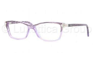 Versace VE3156 Progressive Prescription Eyeglasses 958-5315 - Waves Violet Frame, Demo Lens Lenses