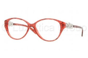 Versace VE3161 Eyeglass Frames 5001-5115 - Dark Steel Frame