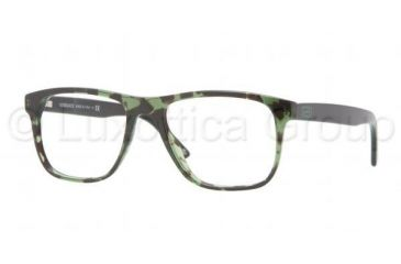 Versace VE3162 Progressive Prescription Eyeglasses 993-5217 - Green Havana Frame