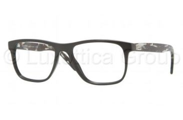 Versace VE3162 Progressive Prescription Eyeglasses GB1-5217 - Shiny Black Frame