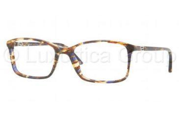Versace VE3163 Progressive Prescription Eyeglasses 992-5217 - Dark Steel Frame