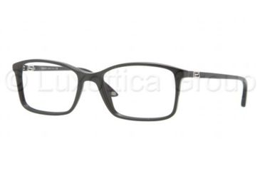 Versace VE3163 Single Vision Prescription Eyeglasses GB1-5217 - Shiny Black Frame