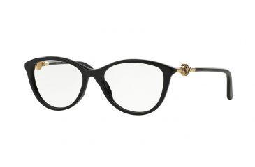 59756834bd0 Versace VE3175 Eyeglass Frames GB1-54 - Black Frame