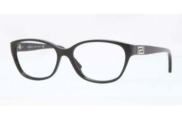 70be093e4f2e0 Versace VE3189B Eyeglass Frames GB1-54 - Black Frame