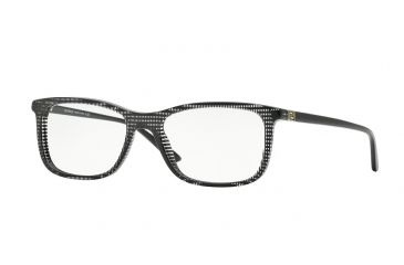 00dbd455a5 Versace VE3197 Eyeglass Frames 5101-53 - Black Rule Frame