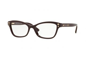 3f5a27370e Versace VE3208 Eyeglass Frames 5105-52 - Bordeaux Frame