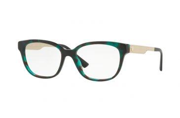 a9777e49d98 Versace VE3240 Eyeglass Frames 5076-52 - Green Havana Frame