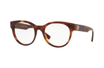 8286e2f5cf Versace VE3268 Eyeglass Frames 5217-51 - Havana Frame