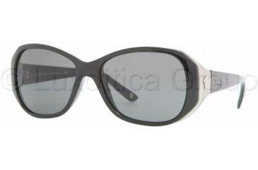 Versace VE4199 Sunglasses GB1/87-5615 - Shiny Black Gray