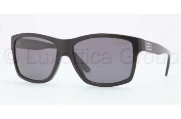 Versace VE4216 Sunglasses GB1/81-5916 - Black Frame, Gray Lenses