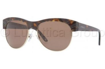 Versace VE4222 Bifocal Prescription Sunglasses VE4222-108-73-5616 - Lens Diameter 56 mm, Frame Color Havana